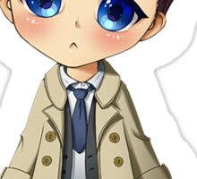 Supernatural - Castiel Sticker Sticker