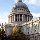 Side view of St Paul's Cathedral by Victoria Kidgell