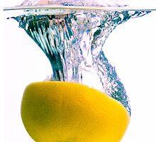 Grapefruit Back Splash by SharonYanai