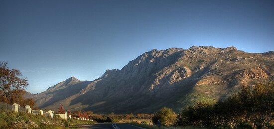 Stellenbosch Mountains - HDR by Margo Naude