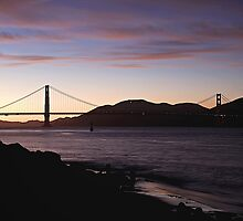 San Francisco -  Sunset by Fern Blacker