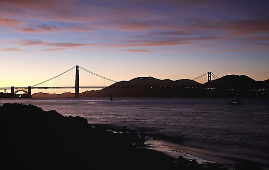 San Francisco -  Sunset by fernblacker