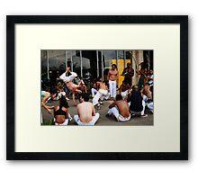 Capoeira em Brazil Framed Print