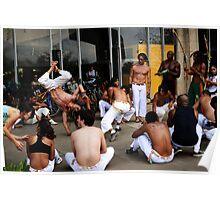 Capoeira em Brazil Poster