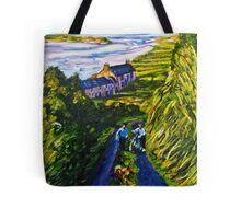 """Road Scene, near Rossport, County Mayo."" Tote Bag"