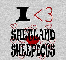 I <3 Shetland Sheepdogs Unisex T-Shirt