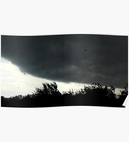 Small Tornado Passing By Poster