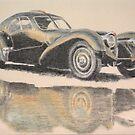 Bugatti Type 57 by Peter Brandt
