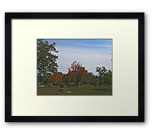 Fall 2012 Collection 25 Framed Print