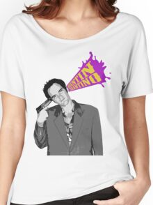 Quentin Tarantino Women's Relaxed Fit T-Shirt