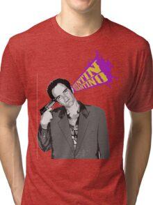 Quentin Tarantino Tri-blend T-Shirt