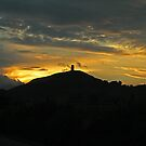 Glastonbury Tor at Sunset by LisaRoberts