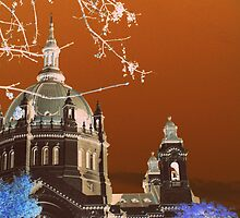 St. Paul Cathedral  by Alex Blaha