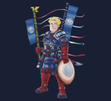 Captain America- Samurai Style  by pagebranson