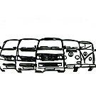 Bus Fest by Sharon Poulton