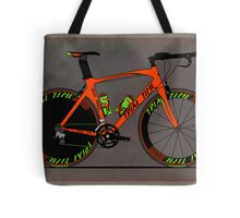Time Trial Bike Tote Bag