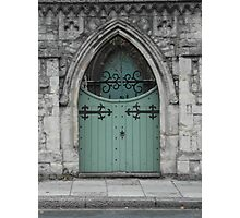 Double Doors Photographic Print