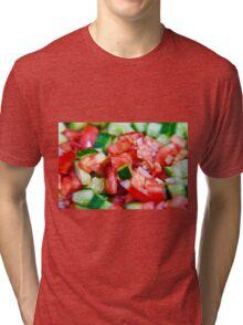 Vegetable salad / Arabic Salad Tri-blend T-Shirt