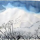 Mt. Feathertop  in winter (1) by taariqhassan