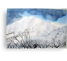 Mt. Feathertop  in winter (1) Canvas Print