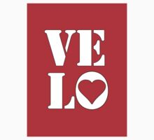 VELO / LOVE STICKER by Colin Wilson