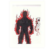 PyroShadow Art Print