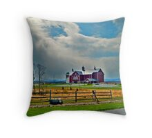 Boyds Bear Country Barn outside Gettysburg PA Throw Pillow