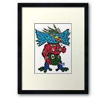 Totem Clan Framed Print