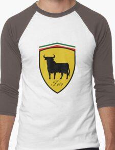 Ferrari Bull/Toro Men's Baseball ¾ T-Shirt