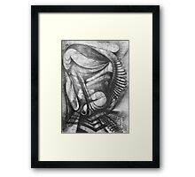 Marching Soldier. Framed Print