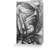 Marching Soldier. Greeting Card