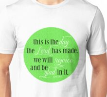 This is the Day | Psalm 118:24 Unisex T-Shirt