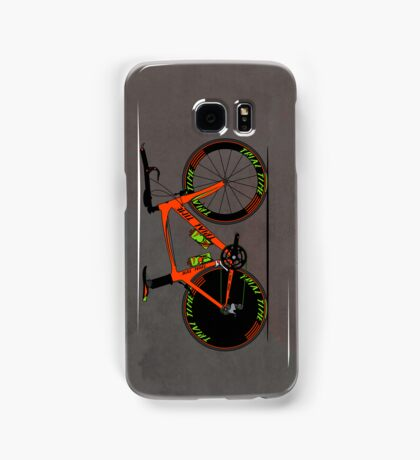 Time Trial Bike Samsung Galaxy Case/Skin