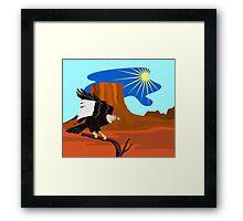 Vulture Buzzard Bird Framed Print