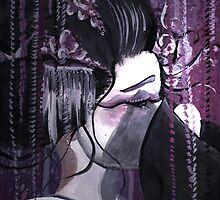 Geisha in Wisteria: The Timid Concubine by Barbora  Urbankova
