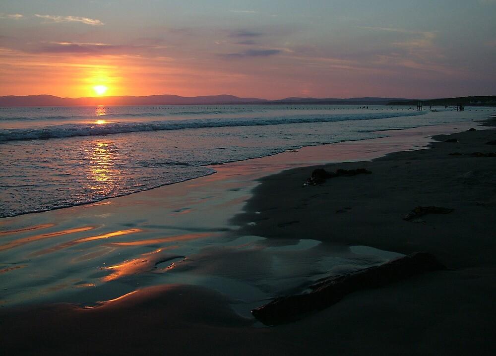 Rossnowlagh Beach Sunset by Adrian McGlynn