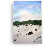 Mt . Baw Baw N.P. in  Winter 2015 Canvas Print
