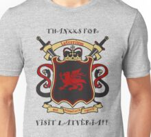 Thankks for Visit Latveria!! Unisex T-Shirt