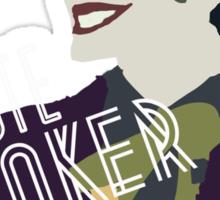 vote for joker! tee Sticker