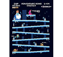 Adventure Kong Poster Photographic Print