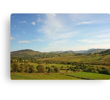 The Bluestack Mountains Canvas Print