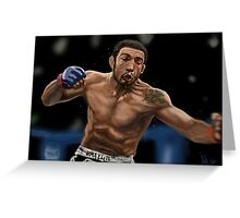 Jose Aldo - Best Pound for Pound UFC Fighter Greeting Card