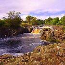 Low Force, River Tees, Upper Teesdale North England- Mid September by Ian Alex Blease
