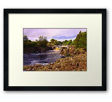 Low Force, River Tees, Upper Teesdale North England- Mid September Framed Print