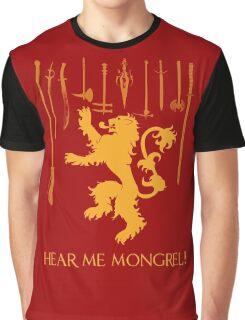 Hear Me Mongrel Gilgamesh Graphic T-Shirt