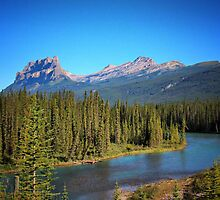 The Famous Castle Mountain by Vickie Emms