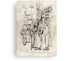 La Goutte d'Or Canvas Print