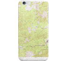USGS Topo Map Washington State WA Pe Ell 243105 1953 62500 iPhone Case/Skin