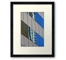 Urban Abstract: In the mirror Framed Print
