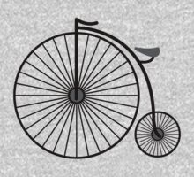 High Wheeler / Penny Farthing Tee by Colin Wilson